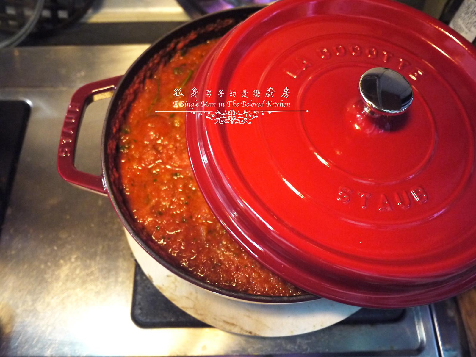 孤身廚房-義大利茄汁紅醬罐頭--自己的紅醬罐頭自己做。不求人18