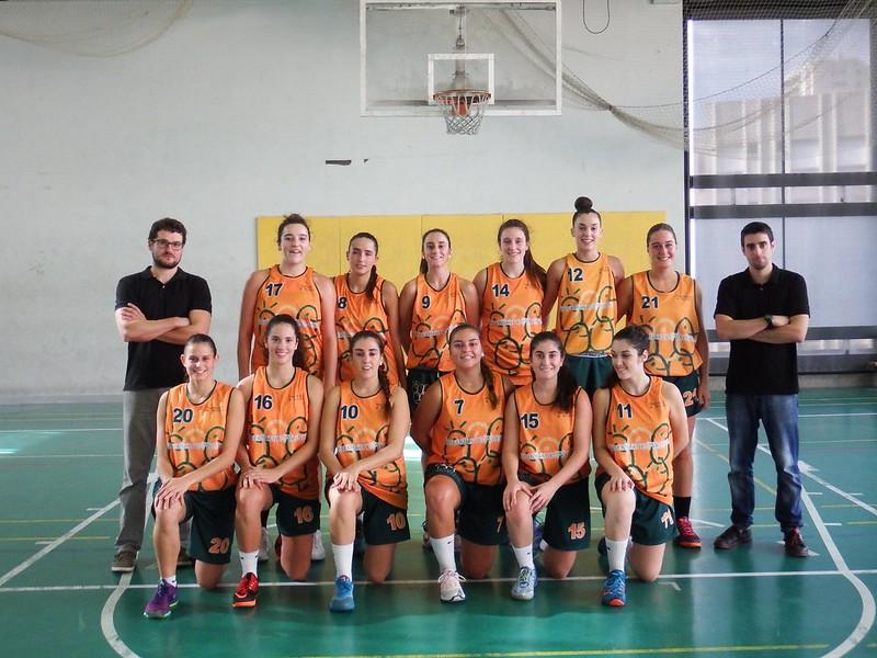 Baloncesto femenino CADU 2015