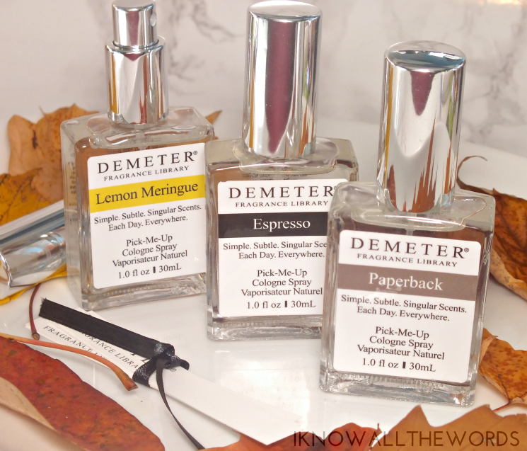 Demeter Scent Memories Lemon Meringue, Espresso, and Paperback