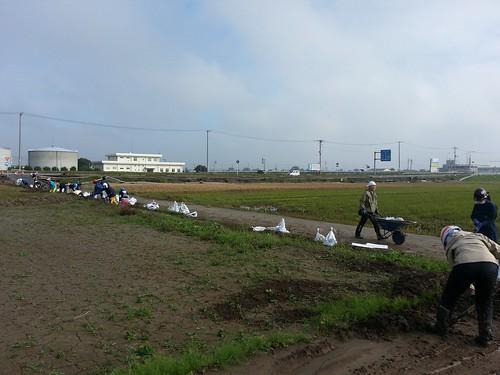 茨城・常総 豪雨水害ボランティア(援人 1103便)