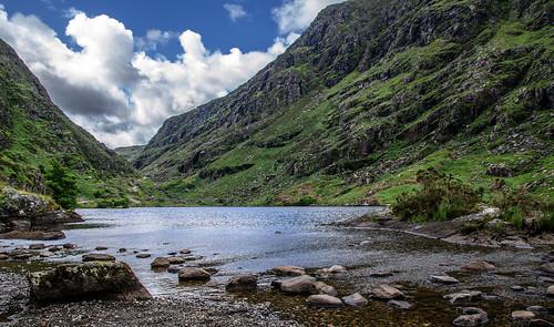 irlanda dunloe augher lake landscape paisaje
