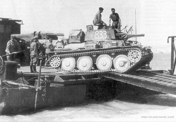 German tank Czech production Pz.38(t)