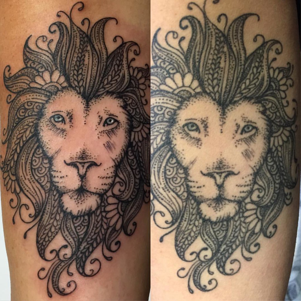 When Is Tattoo Healed: Fresh Vs Healed Tattoo (4.5 Months Ago)