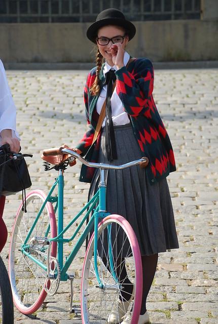 Pražské cyklozvonění fashion show