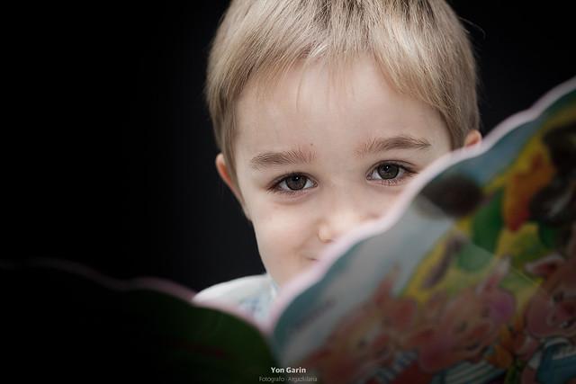 Reportaje infantil en Huarte
