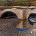 Puente en epoca de sequia