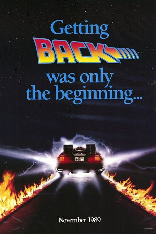 Back to the Future - Part II - Poster 3