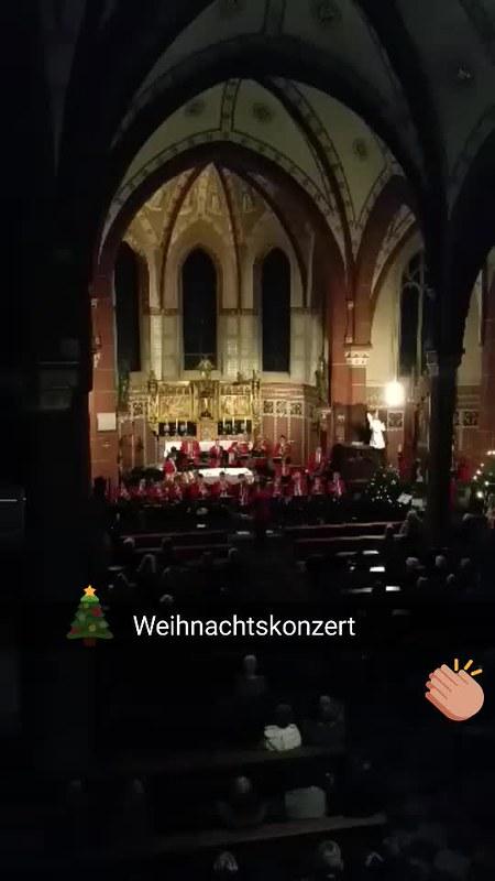 Snapchat Geschichte: Weihnachtskonzert #Niederzier 2015