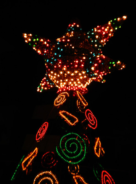 Xmas Tree with a Piñata Topper in Puerto Vallarta