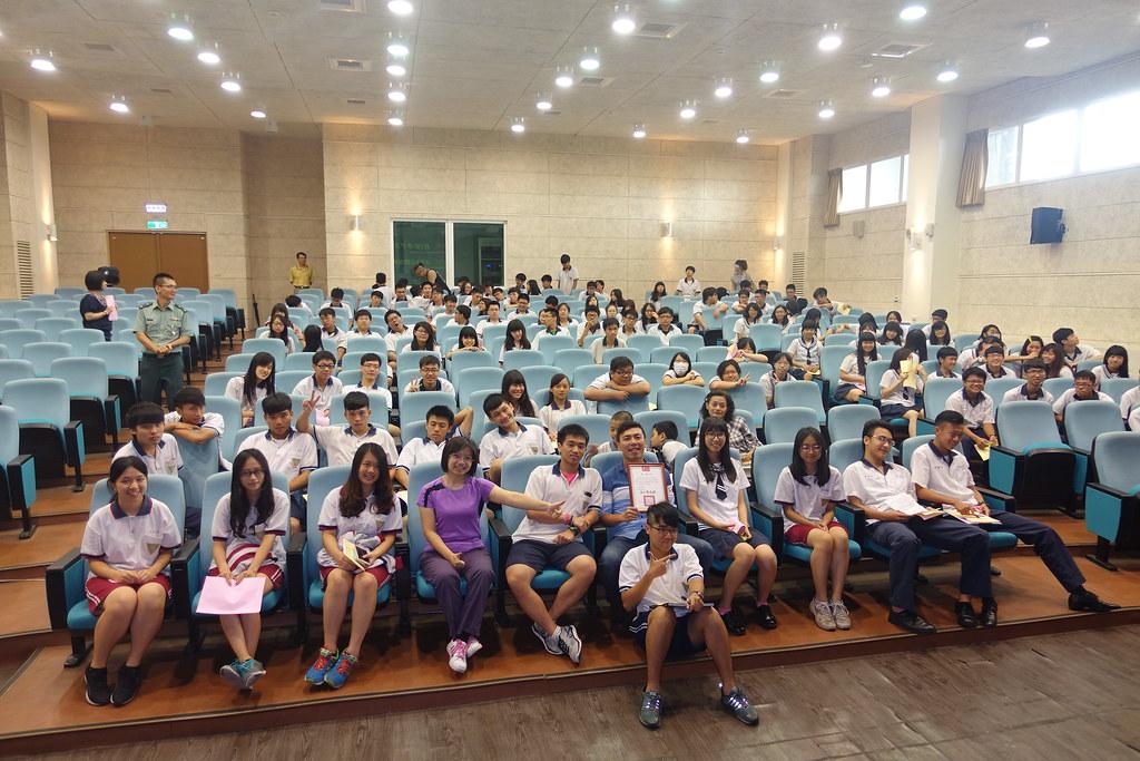 2016.05.23台南新化高中《單車穿越喜馬拉雅的震撼騎跡》講師-8