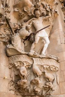 Зображення Basilica de la Sagrada Família поблизу Gràcia. barcelona canon70d lasagradafamilia spain catalunya es