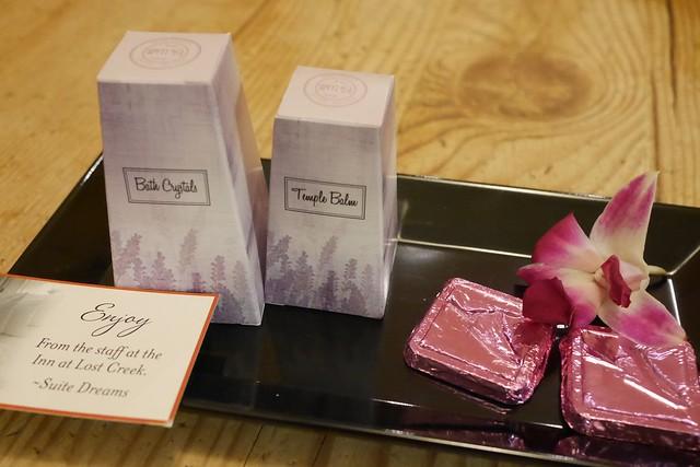 日, 2016-12-11 20:58 - チョコレート、バスソルト、テンプル・バーム