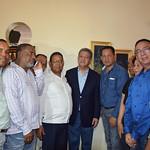 Expresidente LF inicia reparto de canastas navideñas
