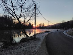 Winter sunrise - Photo of Limeyrat