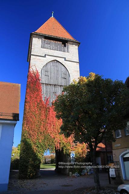 Schwäbisch Gmünd, Rinderbacher gate-tower