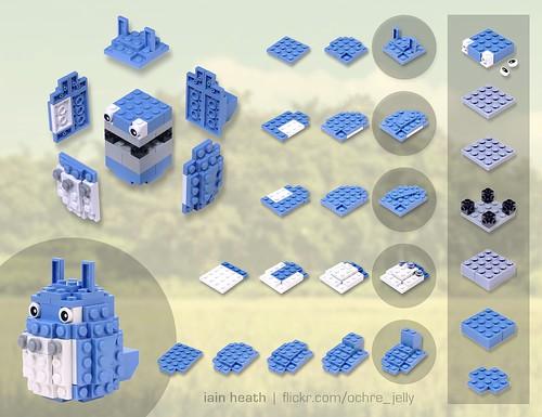 Building guide: Medium Totoro