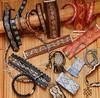 Woven jewelry... backstrap weaving