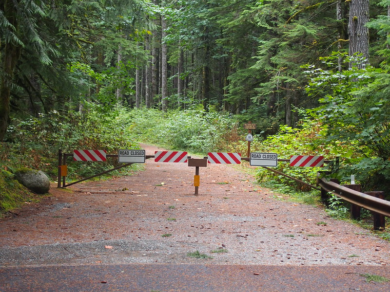 Middle Fork Campground Road Closure: OLYMPUS DIGITAL CAMERA