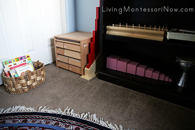 Montessori Toddler Space in the Office