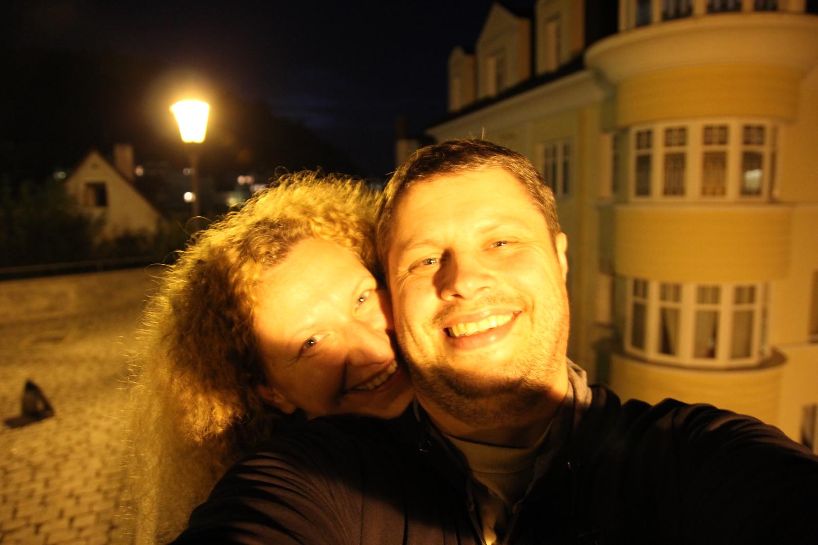 Tada dar Karlovy Vary vakare pabuvom...