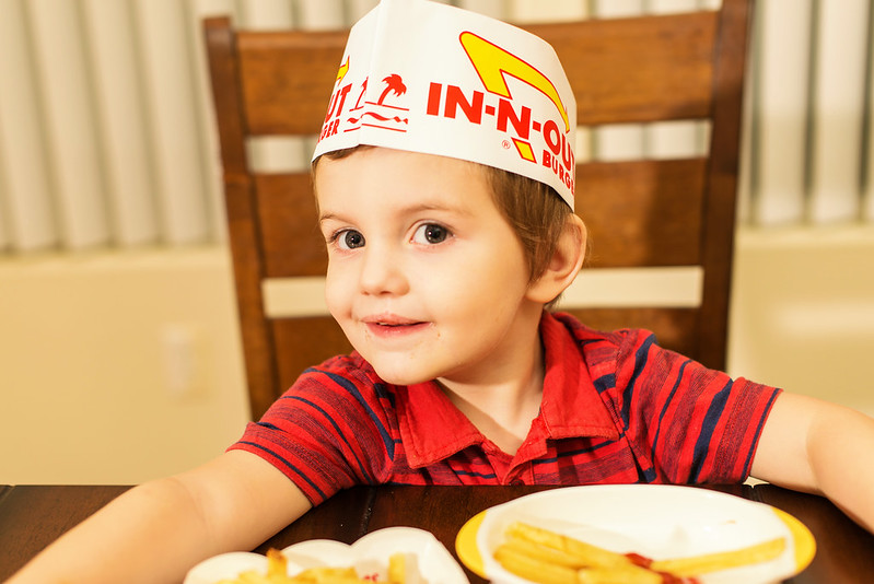 in n out burger kids #johnsonspartners #somuchmore