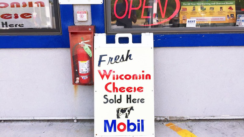 226/365. back in the land of fresh cheese at gas stations.