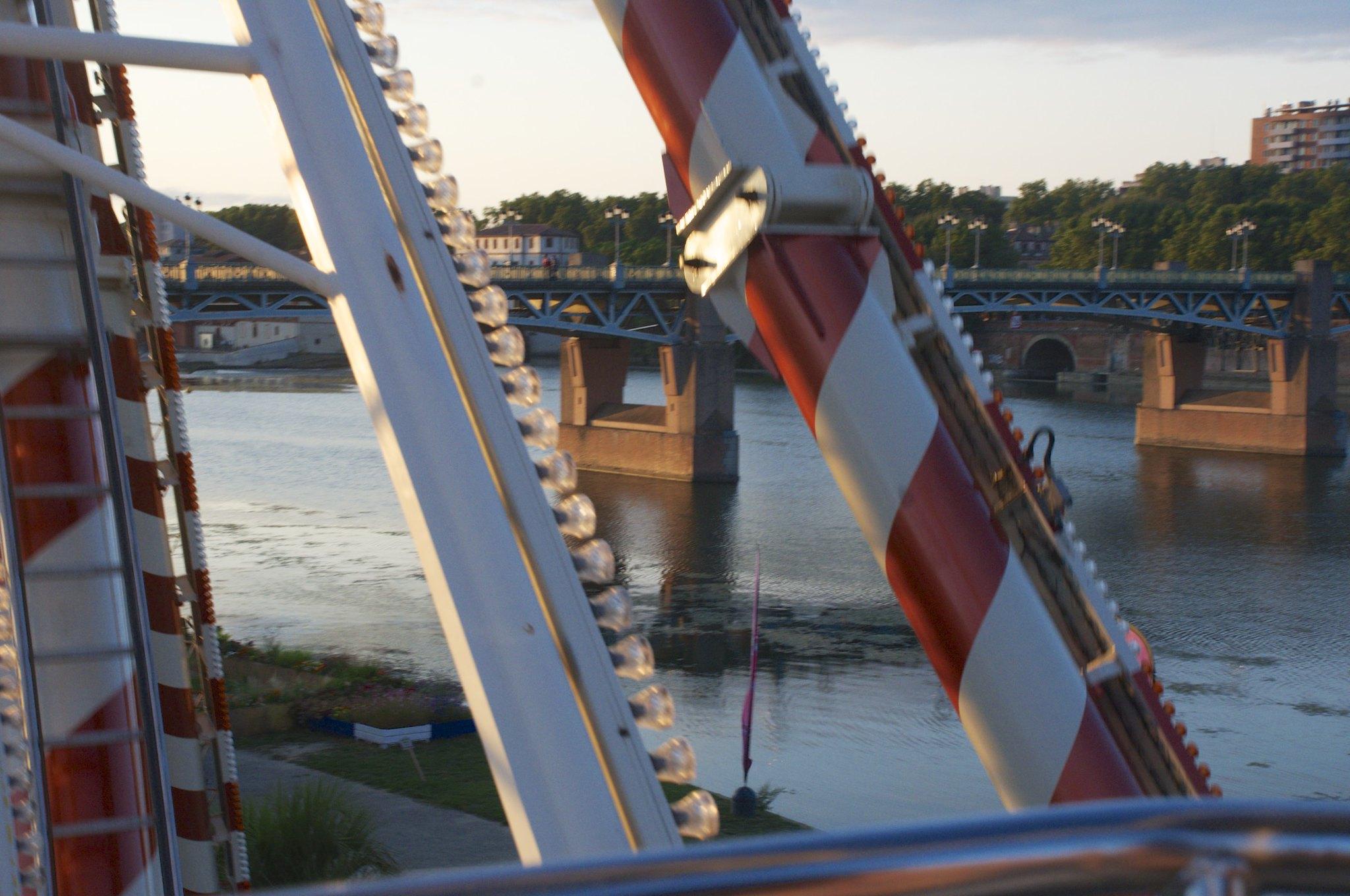 Grande roue Toulouse plage_1
