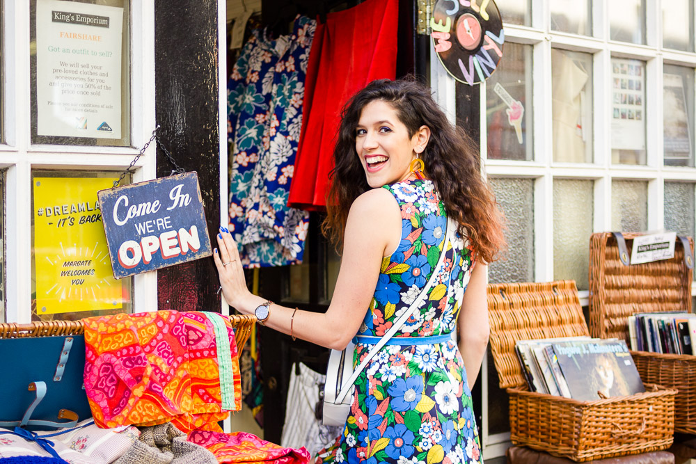 shopping the vintage shops in Margate