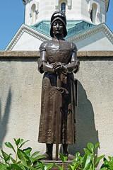 Auch Jeanne d'Arc ist zu Besuch beim heiligen Pfarrer von Ars