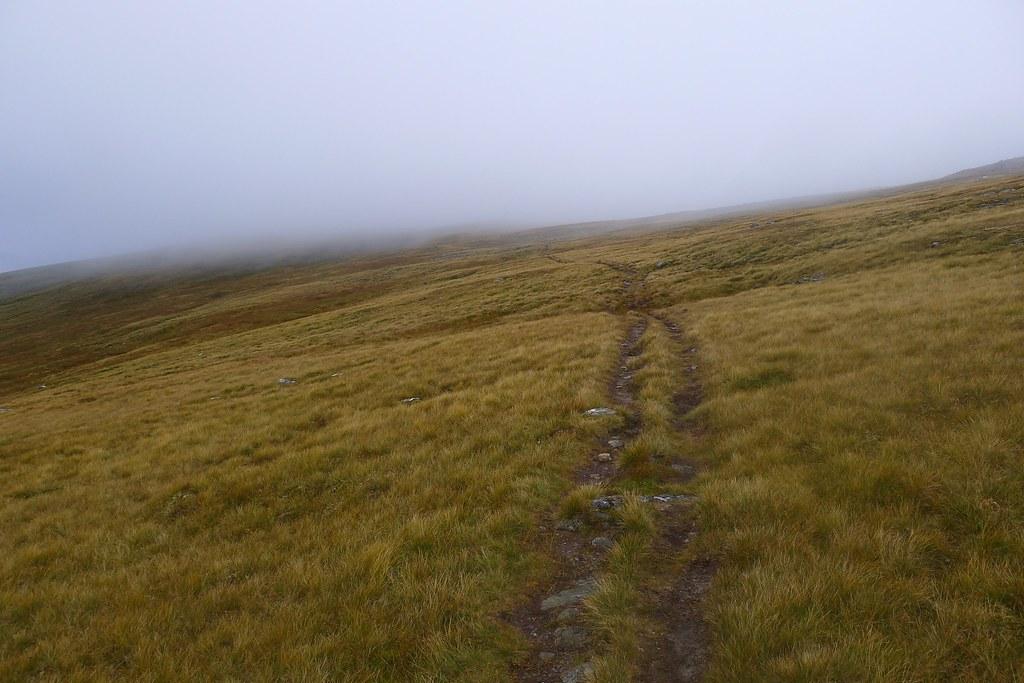 Mist on Creag a' Chaorainn bypass