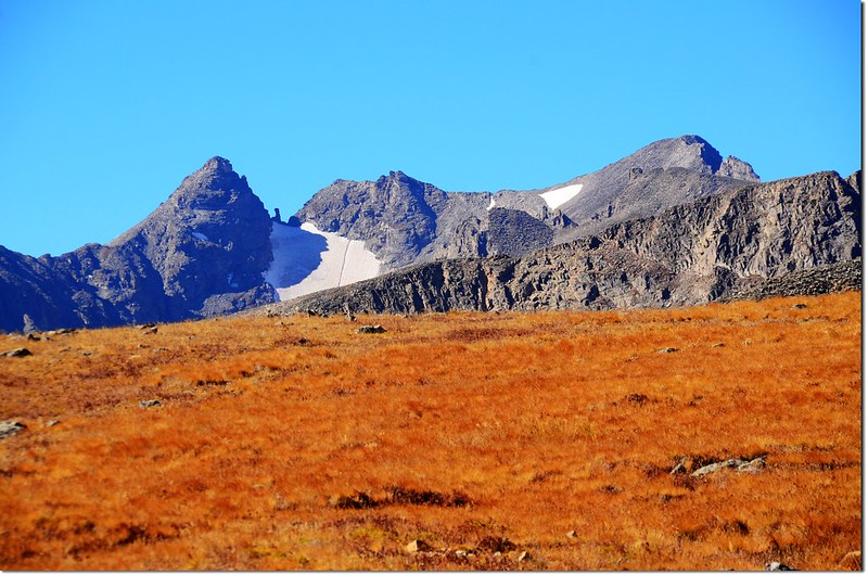 View of Navajo Peak from the Beaver Creek trail 1