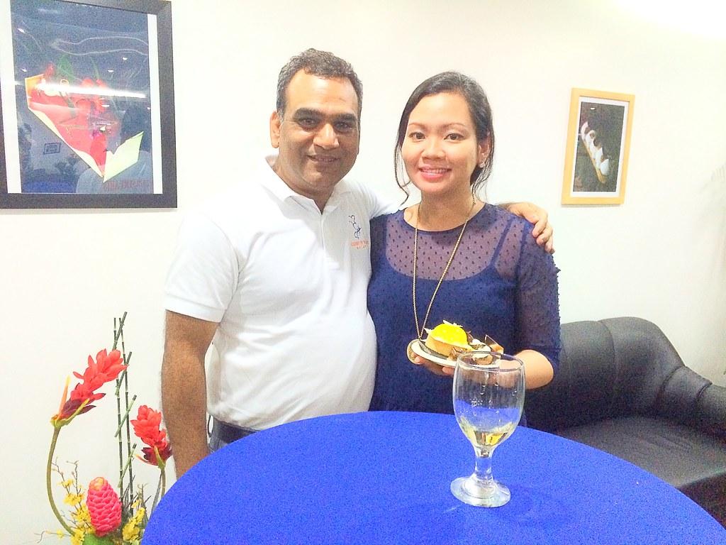 With Chef Niklesh