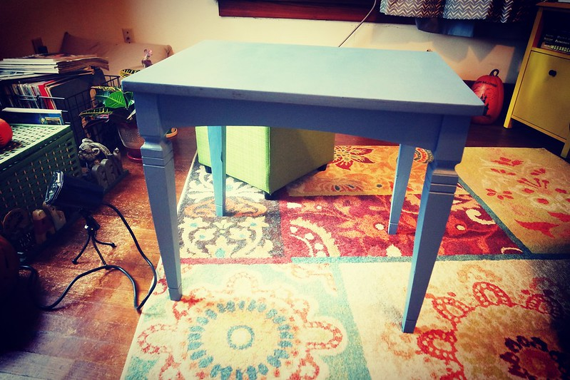 Day 6: I painted this table! #DIY #100HappyDays