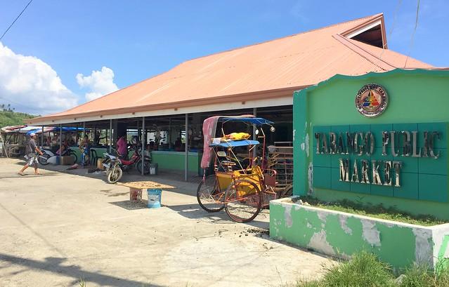 Tabango public market - July 2015
