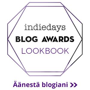 Aanestyspainike - Muoti - Indiedays Blog Awards