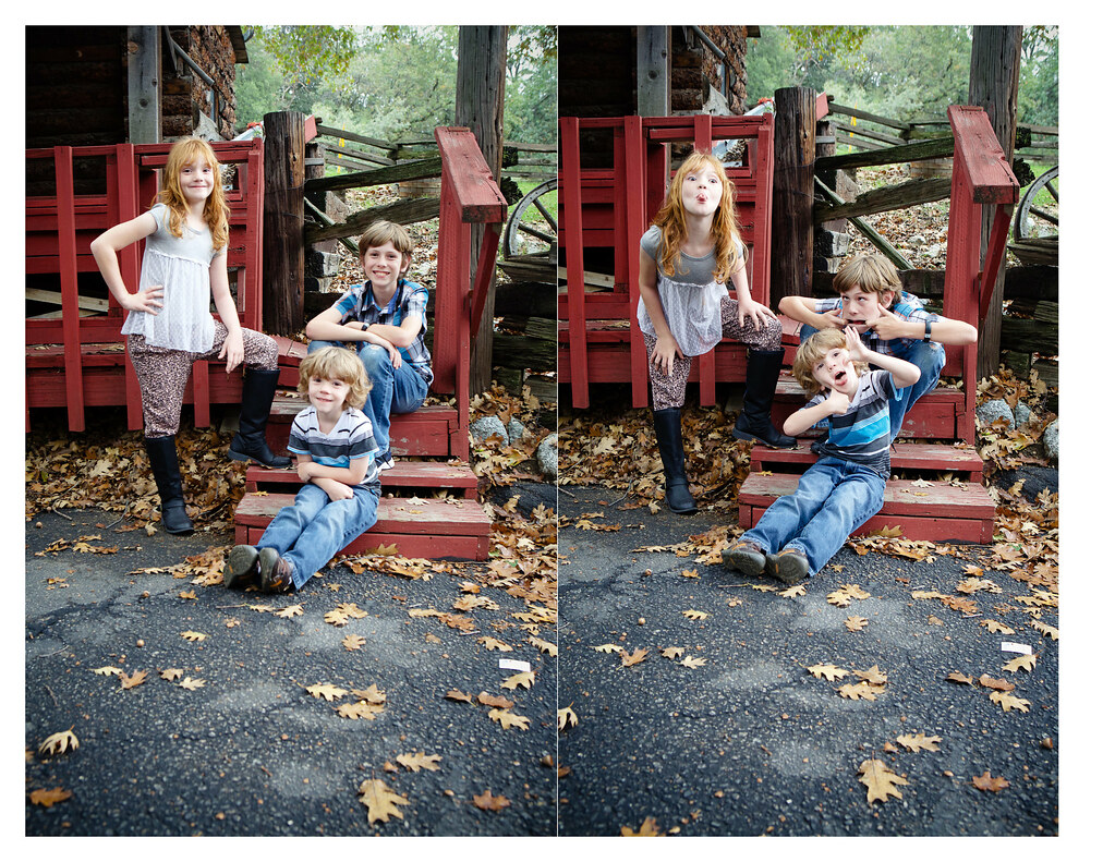 Fall Shot Kids