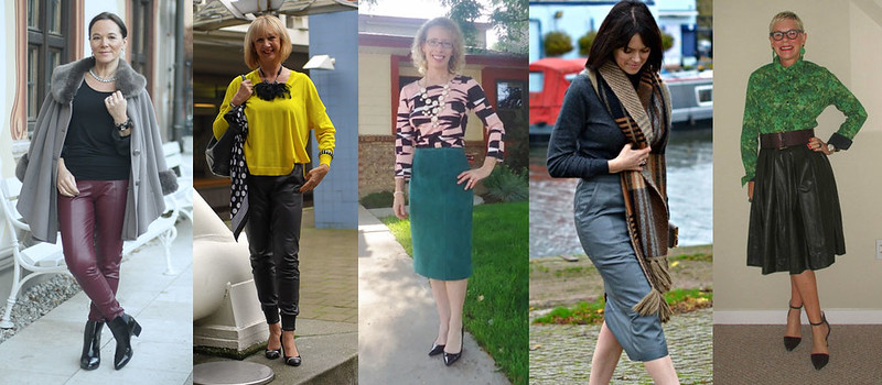 #iwillwearwhatilike - Bloggers in leather and suede