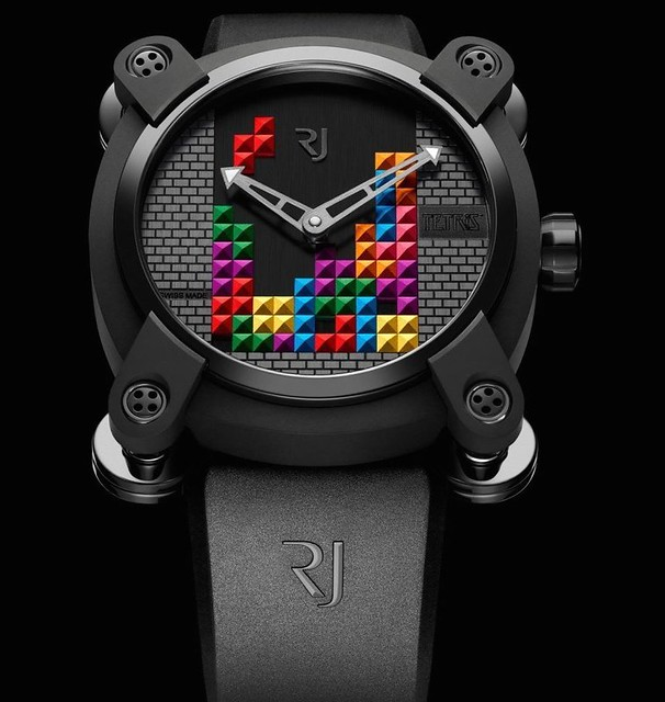 RJ Romain Jerome Tetris DNA Watch