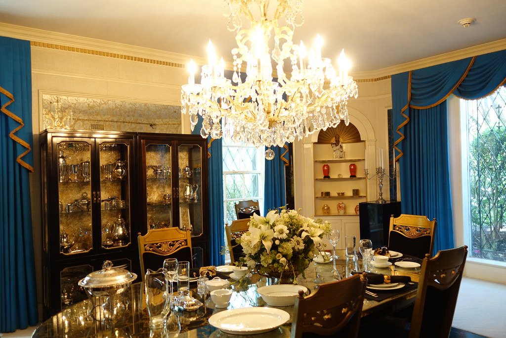 Dining Room, Graceland, Memphis, Tennessee