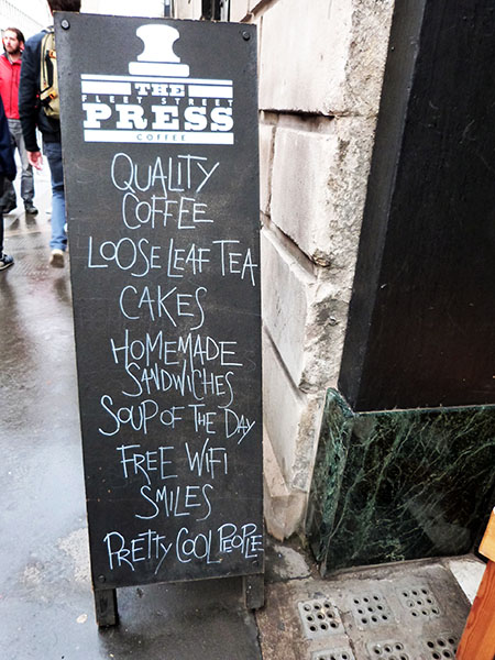 qualiy coffee