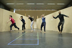 Members of the company in rehearsal for Macbeth. Photo by Richard Hubert Smith (3)