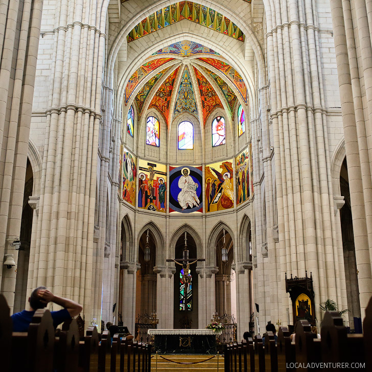 Catedral de la Almundena (21 Remarkable Things to Do in Madrid Spain).