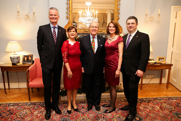 Christmas Drinks Ambassador Residence