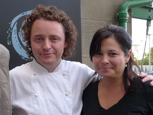 Chef Tom Kitchin, Scotland 2010
