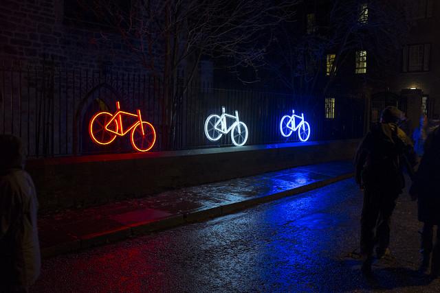 'Neon Bikes', Robyn Wright
