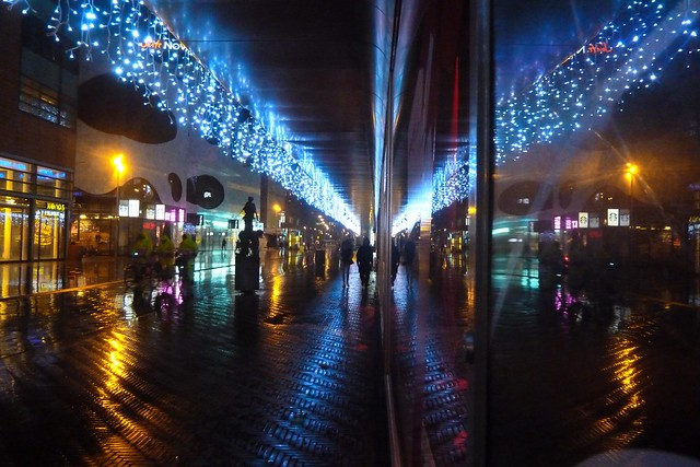 Citycenter at night