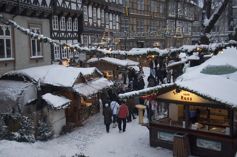 Christmas market in Goslar, Germany. Credit Graham Hills