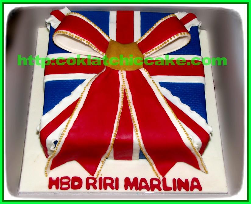 Cake Union Jack / cake bendera inggris