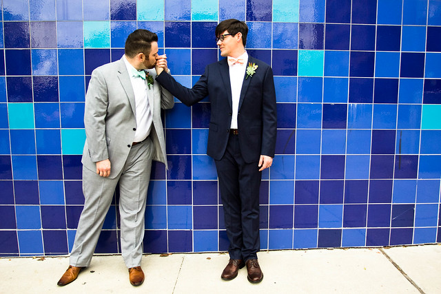 phillip and justin's wedding at the palm door in downtown austin, texas, gay wedding, lgbt wedding,