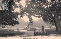 Moulins - Square de la Gare (c.1907)